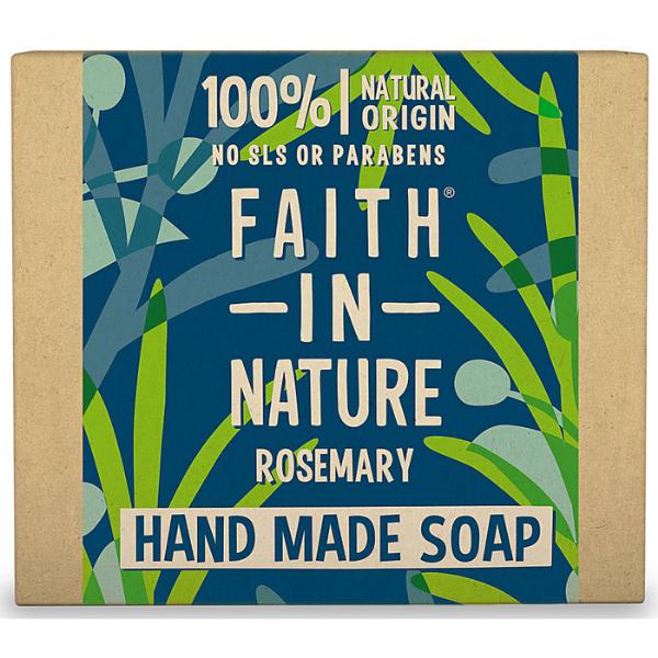 Σαπούνι Χεριών Μπάρα με Δενδρολίβανο, 100gr, Bio, Faith In Nature