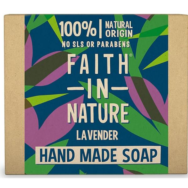 Σαπούνι Μπάρα με Λεβάντα, 100gr, Faith In Nature