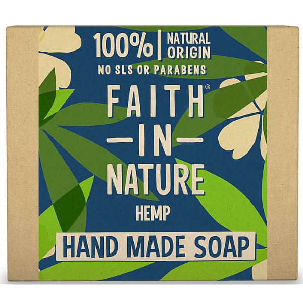 Σαπούνι Μπάρα με Κάνναβη, 100gr, Faith In Nature