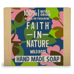 Σαπούνι Μπάρα με Άγριο Τριαντάφυλλο, 100gr, Faith In Nature