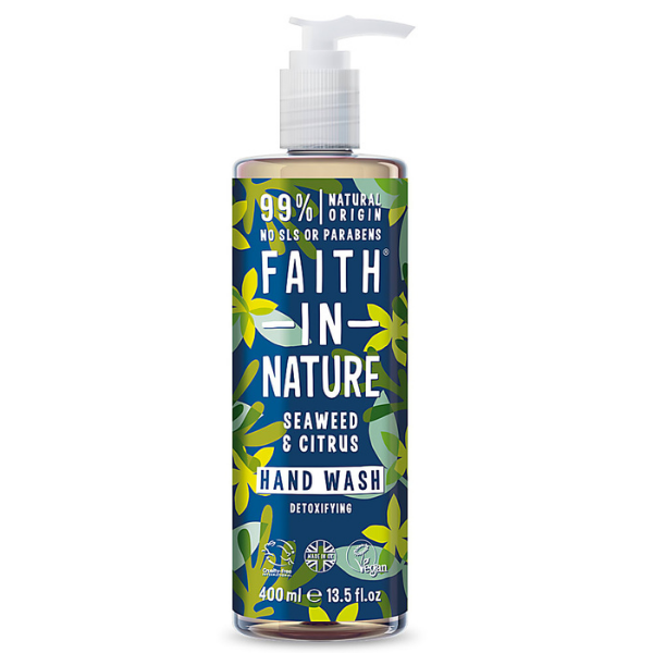 Faith in Nature Κρεμοσάπουνο Κίτρο & Θαλάσσια Φυτά 400 ml