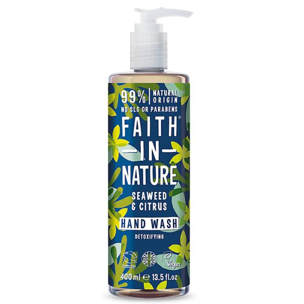 Κρεμοσάπουνο με Κίτρο & Θαλάσσια Φυτά, 400 ml, Faith In Nature