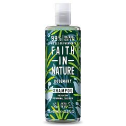 Faith in Nature Σαμπουάν Βιολογικό Δενδρολίβανο 400 ml / Για κανονικό προς λιπαρ