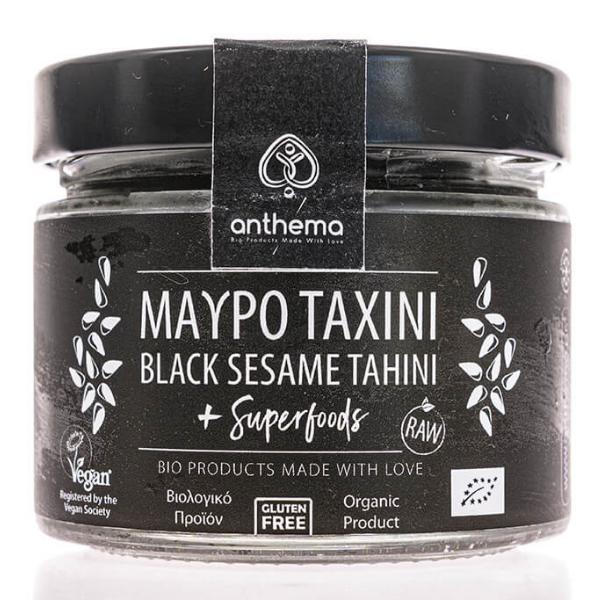 Βιολογικό Μαύρο Ταχίνι με Superfoods, 310 γρ., Bio, Anthema