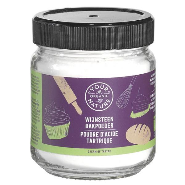 Βιολογικό Cream Tartar Σκόνη, 115 γρ., Bio, YOUR ORGANIC NATURE