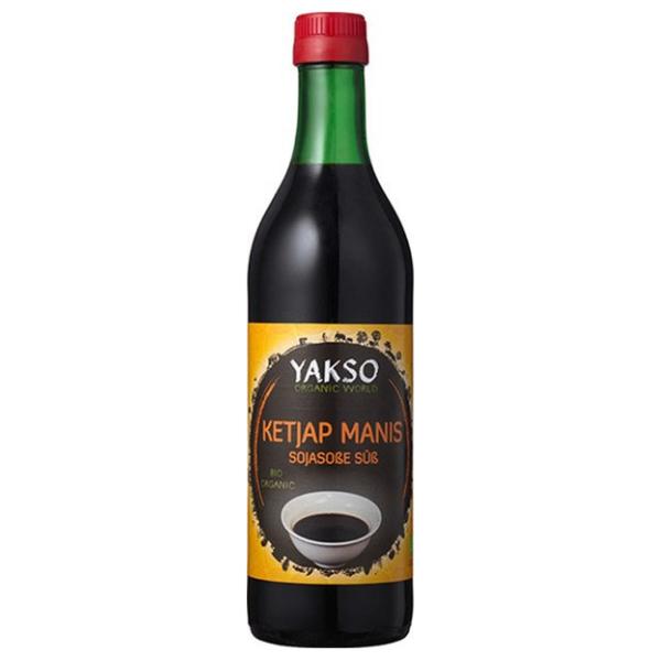 Βιολογική Σάλτσα Σόγιας (Γλυκιά) Manis, 500 ml, Bio, Yakso