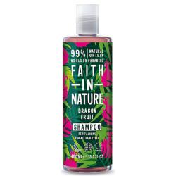 Σαμπουάν με Dragon Fruit, 400ml / Για όλους τύπους μαλλιών, Faith In Nature