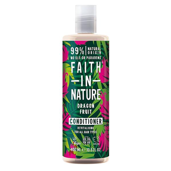 Faith in Nature Μαλακτική Κρέμα Μαλλιών Dragon Fruit (Πιτάγια) για Αναζωογόνηση