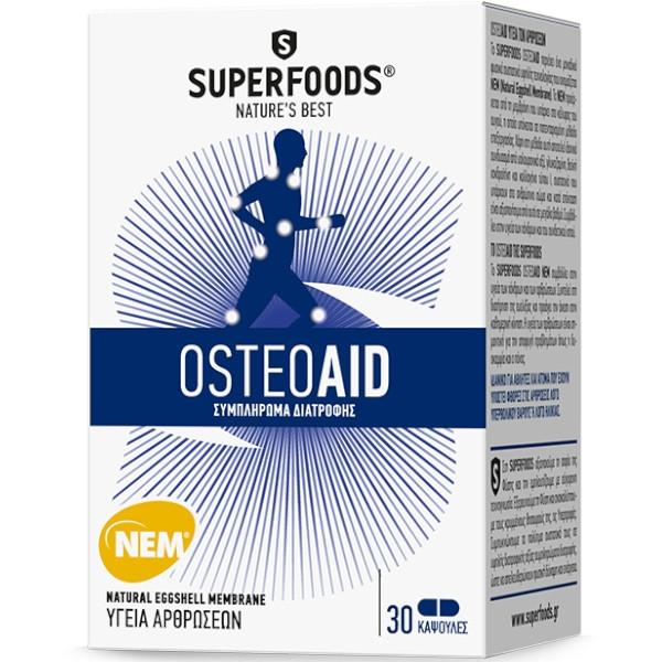 OSTEOAID 30καψ. SUPERFOODS