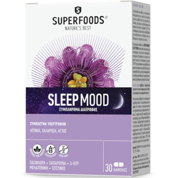 Sleep Mood 30 Caps, SuperFoods