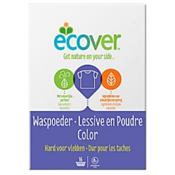 Σκόνη Πλυντηρίου Ρούχων για Χρωματιστά, 1.2 κιλά, Ecover