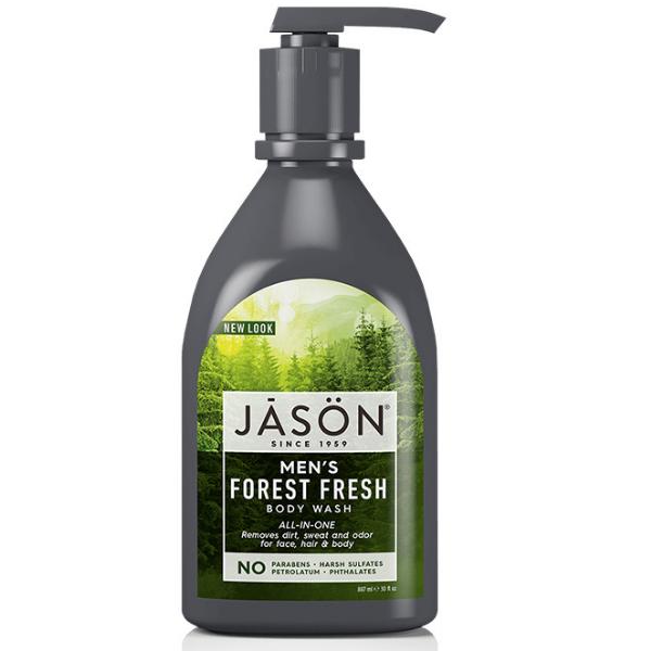 Αφρόλουτρο- Σαμπουάν 2 σε 1 Ανδρικό Forest Fresh, 887ml, Jason