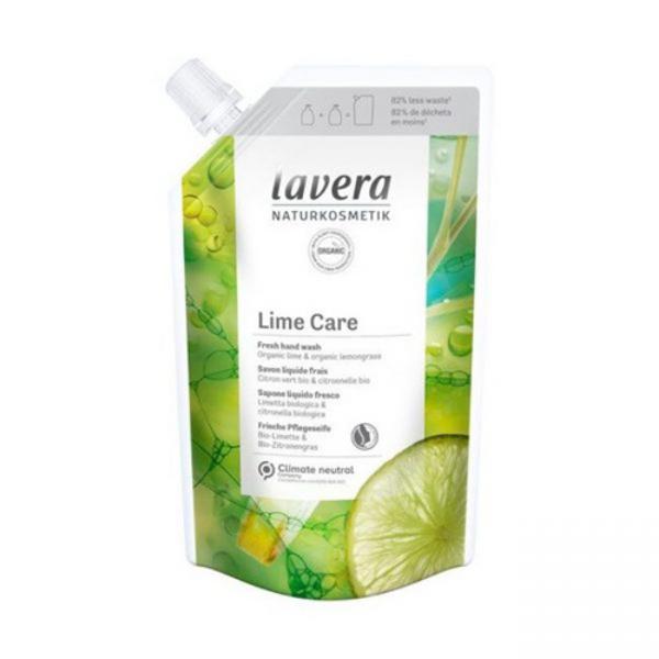 Refill Κρεμοσάπουνο Lime Care, 500ml , Lavera