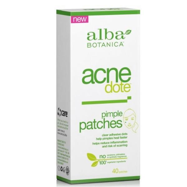 "Acne Dote ""Αόρατα"" Αυτοκόλλητα Επιθέματα, 40 τμχ., Alba Botanica"