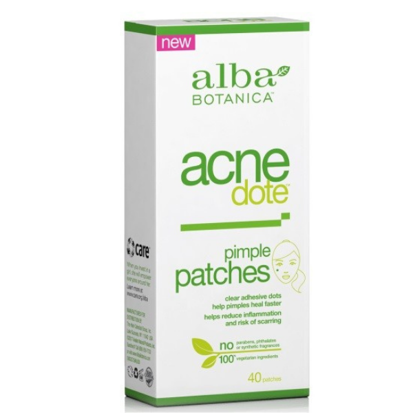"Alba Botanica Acne Dote ""Αόρατα"" Αυτοκόλλητα Επιθέματα 40 τμχ."