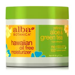 Κρέμα Προσώπου Αλόη Βέρα & Πράσινο Τσάι, 85 γρ., Alba Botanica