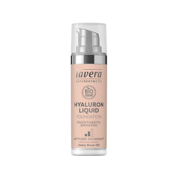 Υγρό Make-up-Ivory Rose 00-,30ml, bio, Lavera