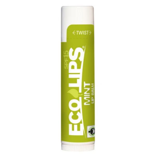 Eco Lips Classic βάλσαμο χειλιών με γεύση Μέντα SPF15 4.25 γρ