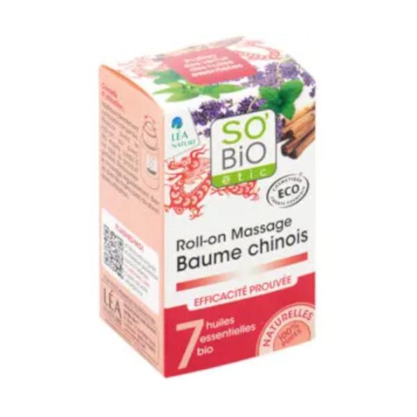 Θεραπευτικό Κινέζικο Βάλσαμο 40ml, SO'BiO etic