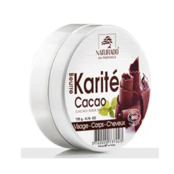 Βούτυρο με Άρωμα Κακάο Karite 135γρ, Naturado