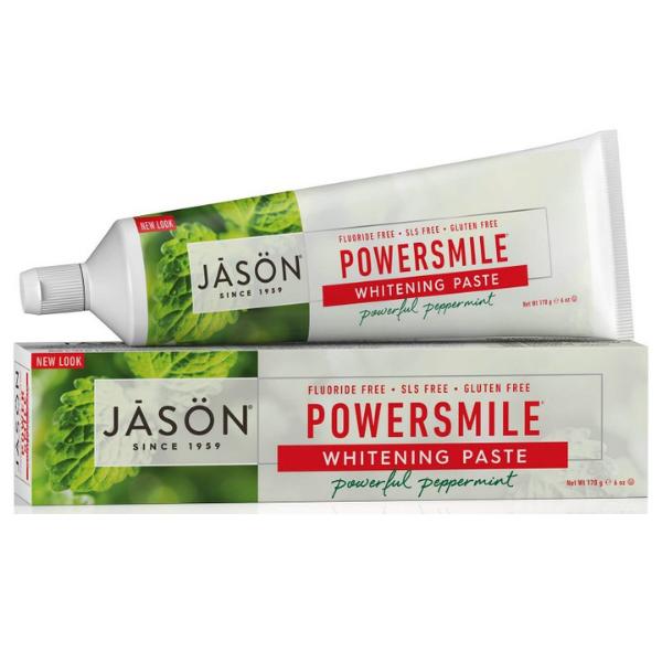 Jason Oδοντόκρεμα για Λεύκανση Powersmile χωρίς Φθόριο 90 ml