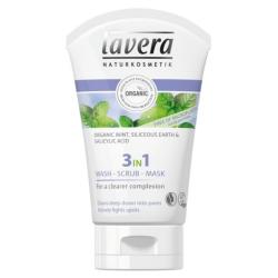 Καθαρισμός- Απολέπιση- Μάσκα Προσώπου 3 σε 1, Bio, 125ml, Lavera