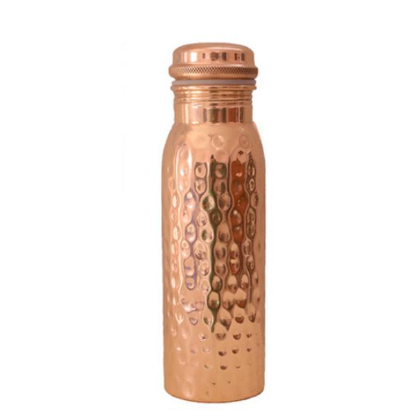 Σφυρήλατο Χάλκινο Μπουκάλι Νερού (600ml)