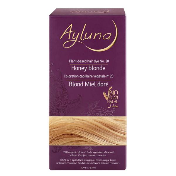 Βιολογική Βαφή Honey Blonde Nr.20, 100gr, Ayluna