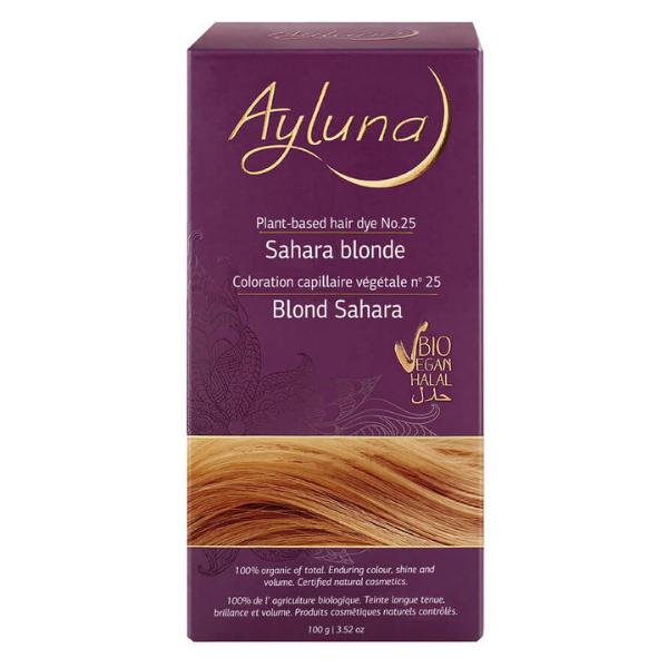 Βιολογική Βαφή Sahara Blonde Nr.25, 100gr, Ayluna
