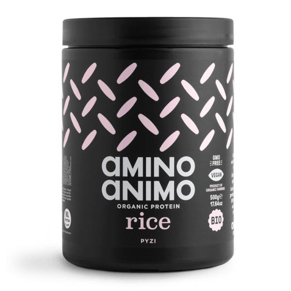 Βιολογική Πρωτεΐνη από Ρύζι, 500 γρ., Bio, Amino Animo