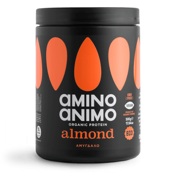 Βιολογική Πρωτεΐνη από Αμύγδαλο, 500 γρ., Bio, Amino Animo