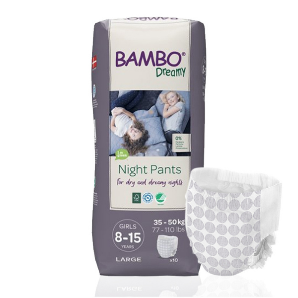 Παιδικό βρακάκι Bambo dreamy 8-15y girl, 35-50kg, 10tem, bambo