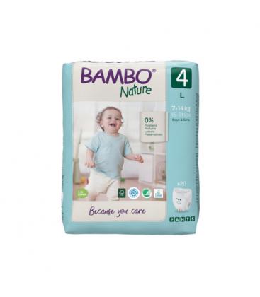 Πάνες βρακάκι, Νο 4, 7-14kg, 20tem, bambo