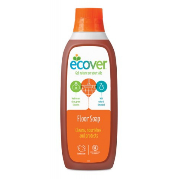 Υγρό Καθαριστικό για Πατώματα με Λινέλαιο, 1 λίτρο, Ecover