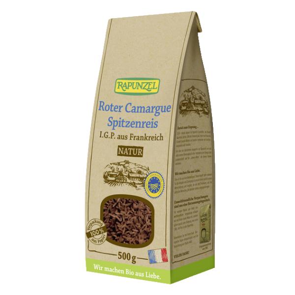 Βιολογικό Κόκκινο Ρύζι Camargue, 500γρ., Bio, Rapunzel
