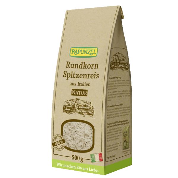 Βιολογικό Ρύζι Κοντό, Καστανό, 500γρ., Bio, Rapunzel