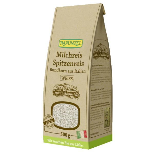 Βιολογικό Ρύζι Κοντό Λευκό, 500γρ., Rapunzel