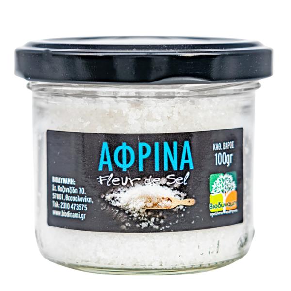 Αλάτι Αφρίνα 100γρ., Ελληνικό, Ανθός Μεσολογγίου