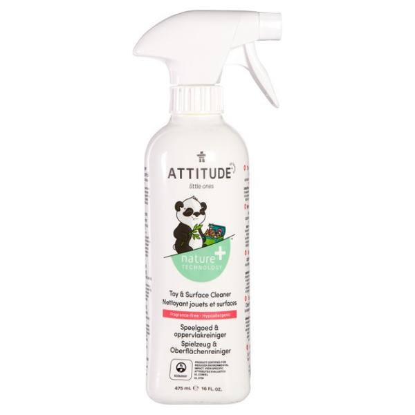 Υποαλλεργικό Καθαριστικό Παιχνιδιών & Επιφανειών, Χωρίς Άρωμα, 1 lt, Attitude