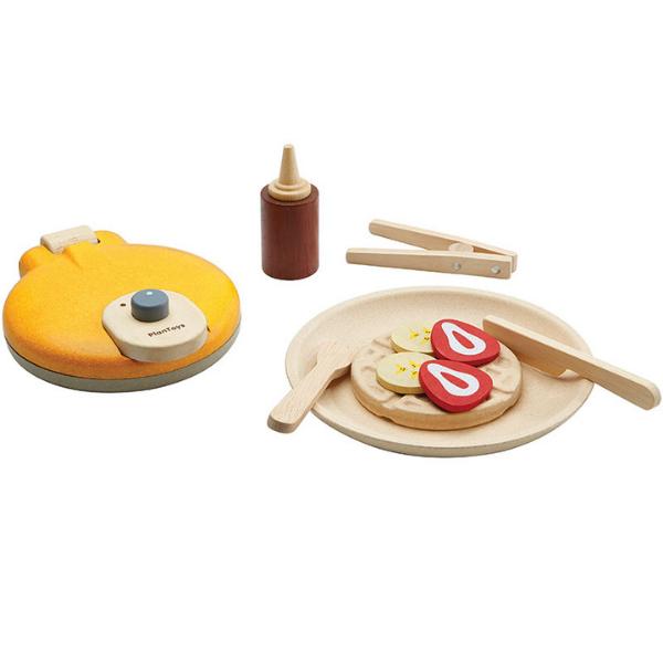 Βαφλιέρα, Plantoys, ξύλινο, οικολογικό, εκπαιδευτικό, παιχνίδι