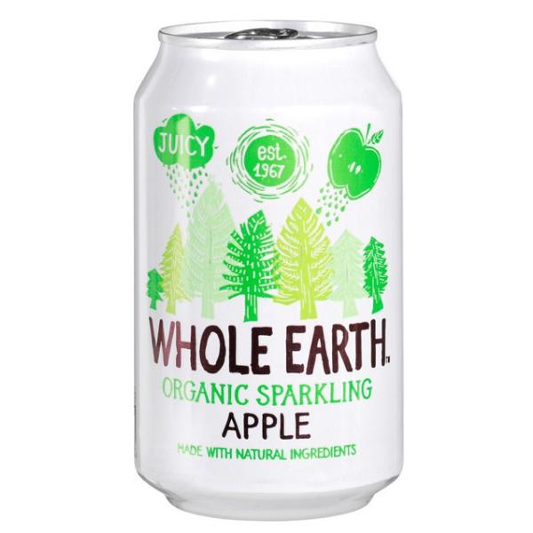 Βιολογικό Αναψυκτικό Μήλο, 330 ml, Bio, Whole Earth