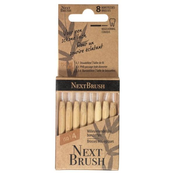 Οδοντικά Βουρτσάκια, 8 τεμάχια, Next Brush