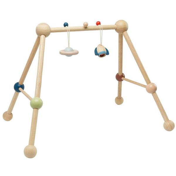 Γυμναστήριο μωρού, Plantoys, ξύλινο, οικολογικό, εκπαιδευτικό, παιχνίδι