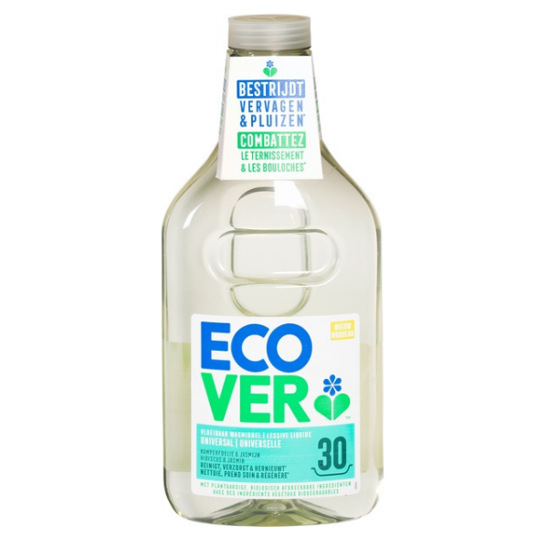 Υγρό Απορρυπαντικό Ρούχων Universal, 1,5 lt, Ecover