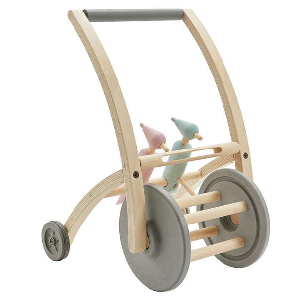 Περπατούρα με τρυποκάρυδους, Plantoys, ξύλινο, οικολογικό, εκπαιδευτικό, παιχνίδι