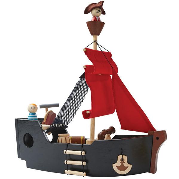 Πειρατικό καράβι, Plantoys, ξύλινο, οικολογικό, εκπαιδευτικό, παιχνίδι