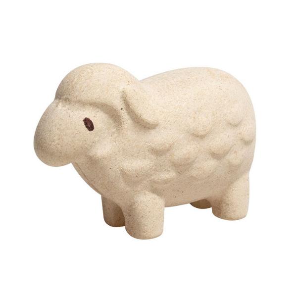 Πρόβατο, Plantoys, ξύλινο, οικολογικό, εκπαιδευτικό, παιχνίδι