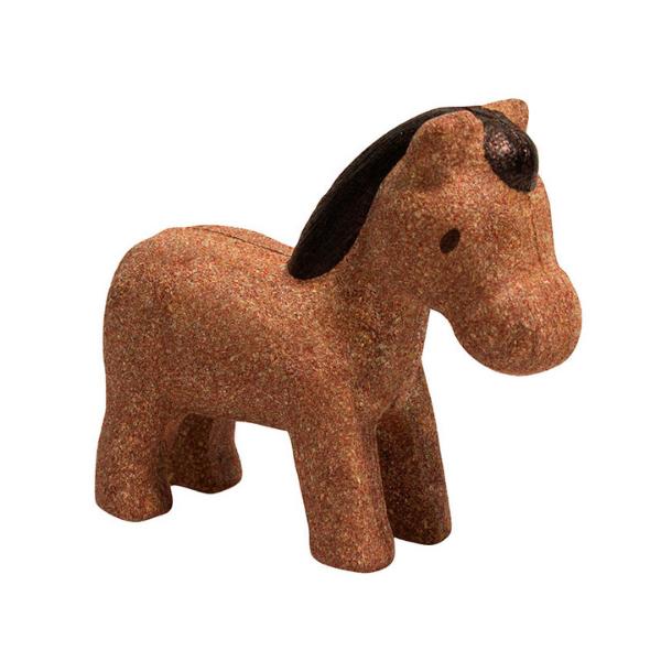 Άλογο, Plantoys, ξύλινο, οικολογικό, εκπαιδευτικό, παιχνίδι