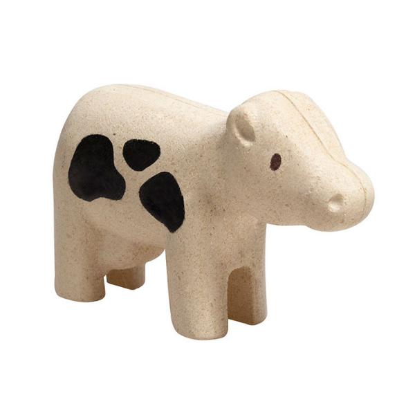 Αγελάδα, Plantoys, ξύλινο, οικολογικό, εκπαιδευτικό, παιχνίδι