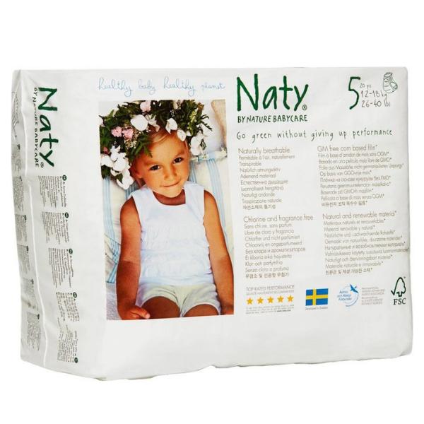 Πάνες Βρακάκι No 5, για 12-18kg, 20 τεμάχια, Naty